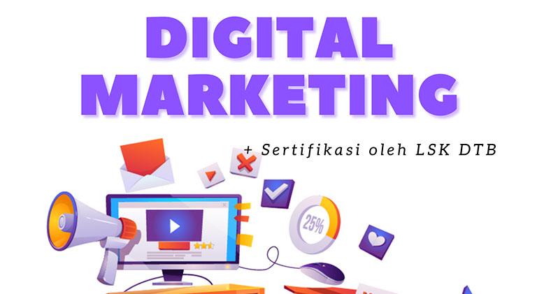 Workshop & Sertifikasi Digital Marketing untuk Instruktur, Guru dan Dosen